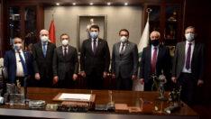 DP Genel Başkanı Uysal'dan Başkan Ataç'a Ziyaret