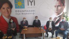 CHP Odunpazarı İlçe Başkanlığından İYİ Parti Odunpazarı İlçe Başkanlığına Ziyaret