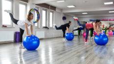 Kadınlar spor yaparak sağlık kazanıyor