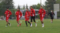 Boluspor maçı hazırlıkları tamamlandı