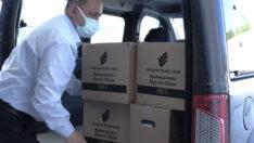 ETO'dan kapanan işletmelere üçüncü kez gıda yardımı