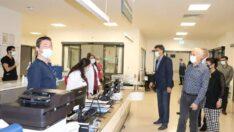 Başkan Çalışkan'dan Hastaneye Bayram Ziyareti