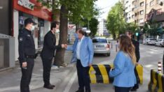 Karacan'dan Emniyet Müdürlüklerine bayram ziyareti