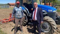 Başkan Şanlı çiftçilerin gününü kutladı