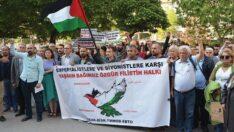 Eğitim-Sen Alkan : Ortadoğu'ya barış Filistin'e özgürlük