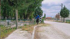 Mahmudiye'de temizlik çalışmaları sürüyor