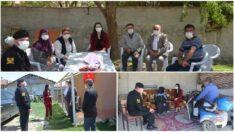 Kaymakam Karaalioğlu Şehit Aileleri ve Gazileri ziyaret etti