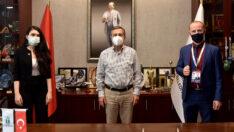Abhaz Kültür Derneği'nden Başkan Ataç'a Ziyaret
