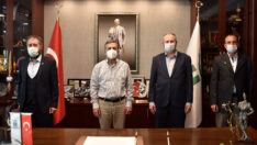 Saadet Partisi Tepebaşı'ndan Başkan Ataç'a Ziyaret