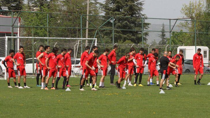 Beypiliç Boluspor maçı hazırlıkları başladı