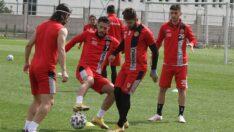 Beypiliç Boluspor maçının taktiği çalışıldı