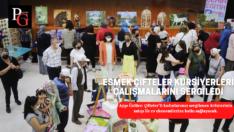 ESMEK Çifteler kursiyerleri çalışmalarını sergiledi