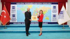 Genel Başkan Yardımcısı Tambova'dan ESO Başkanı Kesikbaş'a Ziyaret