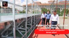Sivrihisar'da spor tesisleri yenileniyor