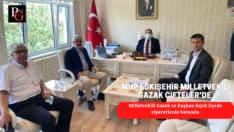 MHP Milletvekili Sazak Çifteler'de