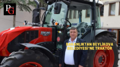 Beylikova'ya Traktör Hibesi