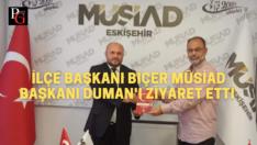 Yeniden Refah Partisi MÜSİAD'ı ziyaret etti