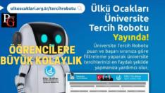 Ülkü Ocakları Üniversite Tercih Robotu Yayında!