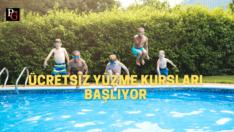 Beylikova'da Yüzme Kursları Başlıyor