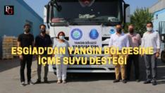 ESGİAD'dan yangın bölgesine destek