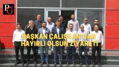 AK Parti İl Başkanı Çalışkan'dan Eskişehirspor'a Ziyaret