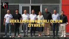 CHP'li vekillerden Eskişehirspor'a ziyaret