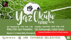 Futbol yaz okulu kayıtları başlıyor