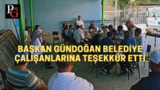 Başkan Gündoğan, Belediye Personeli İle Bayramlaştı