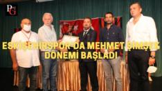 Eskişehirspor'da Başkan Mehmet Şimşek