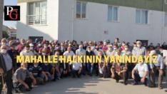 Pazar , 71 Evler mahallesi halkının talebidir