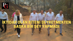 Aylin Cesur İYİ Parti heyeti ile Muğla'da