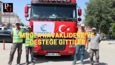 Çifteler'den yangın bölgesine araç ve personel desteği