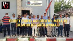 CHP'li Çakırözer Kırka ETİ Maden emekçilerine destek verdi