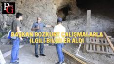 İnönü Kalesi ve İnler Mağarası Restorasyonları sürüyor