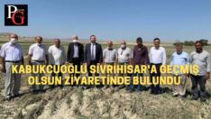 Kabukcuoğlu Sivrihisar'da incelemelerde bulundu