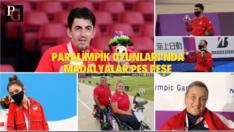 Paralimpik Oyunları'nda madalyalar peş peşe