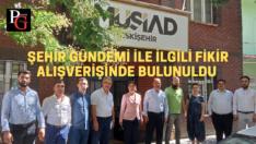CHP Milletvekili Süllü MÜSİAD'ı ziyaret etti