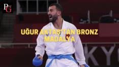 Karate'de bir madalya daha…