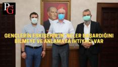 """Başkan Kurt: """"Eskişehir, ilklerin şehri"""""""