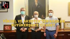 'İlklerin Şehri Eskişehir' Başkan Büyükerşen'e hediye edildi