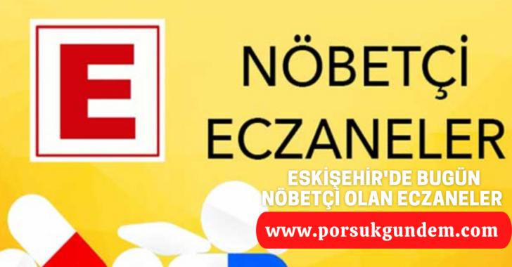19 Eylül 2021-Eskişehir Nöbetçi Eczaneleri