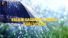 Sağanak yağış uyarısı…