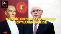 """""""Eskişehir'in işgalden kurtuluşunun 99'uncu yıl dönümünü coşku ve gururla kutluyoruz"""""""