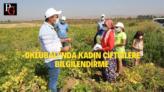 Oklubalı'nda Kadın Çiftçilere Barbunya Bilgilendirmesi Yapıldı