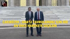 CHP'li Çakırözer Sağlık Bakanlığı ve Novartis ile görüştü
