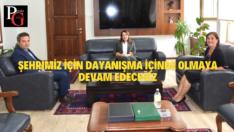 Dr.Süllü ve Prof.Dr.Günay'dan DSİ'ye Ziyaret