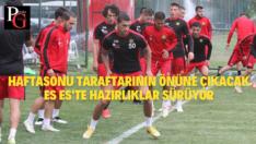 Şanlıurfaspor Maçı Hazırlıkları Sürüyor