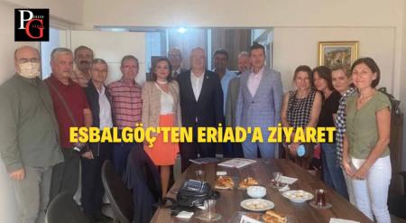 ESBALGÖÇ'ten ERİAD'a Ziyaret