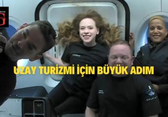 Üç Gün Boyunca Uzayda Seyahat Edecekler
