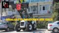 TBB'den Mihalgazi'ye İş Makinası Hibesi